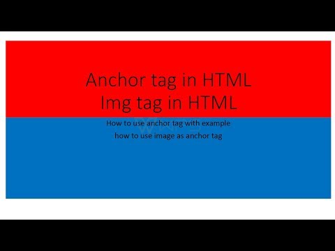 How To Use Anchor Tag In Sublime Text In Html   Tech Web Tutorials