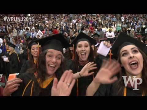 William Paterson University Commencement Ceremony 2016 streaming vf