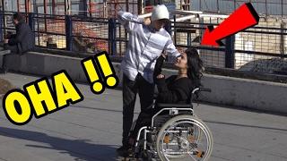 engelli bir kiza dayak atmak sosyal deney