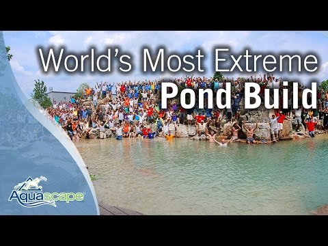 World's Most Extreme Pond Build Finale 2