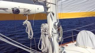 Adams Creek NC to New Bern NC - Beautiful Day to Sail
