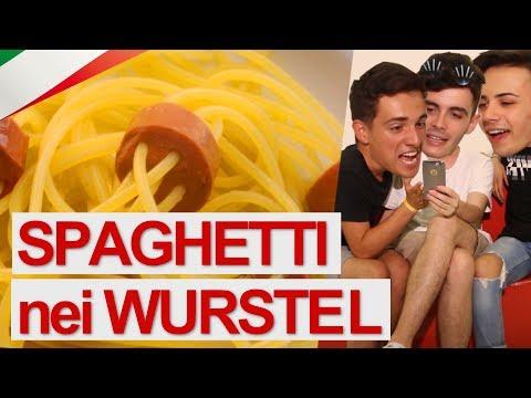 Spaghetti nei wurstel serve sta cafonata? 🇮🇹 con gabriele