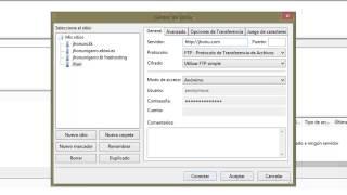 Configurar Filezilla y subir archivos por FTP a tu servidor o hosting