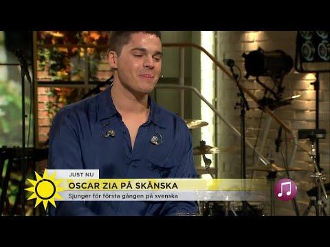 """Oscar Zia på svenska - """"Det är väldigt mycket känslor""""  - Nyhetsmorgon (TV4)"""