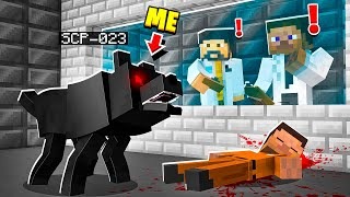 I Became SCP023 in MINECRAFT!  Minecraft Trolling Video