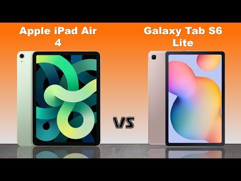 iPad Air 4 vs Samsung Galaxy Tab S6 Lite