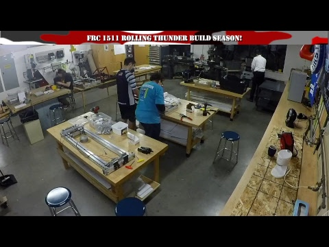 Build Season | FIRST 1511 Rolling Thunder | DESTINATION: DEEP SPACE