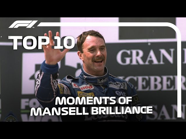Top 10 Moments of Nigel Mansell Brilliance
