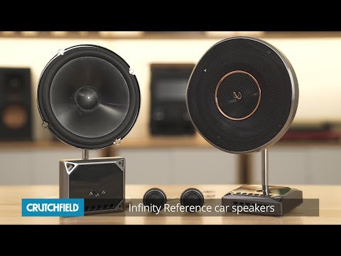 Infinity Reference car speakers | Crutchfield video