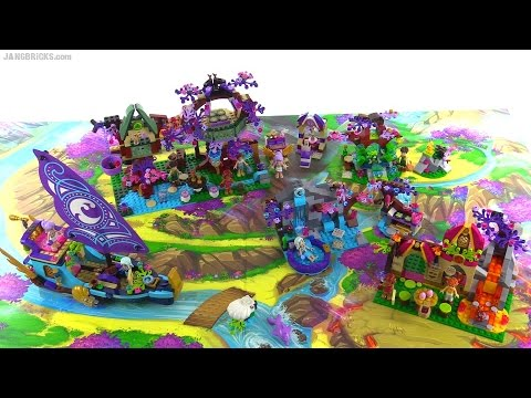 Lego Elves Collection All 2015 Wave 1 Sets Together