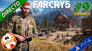 Far Cry 5 con muralla directo Gameplay español ps4