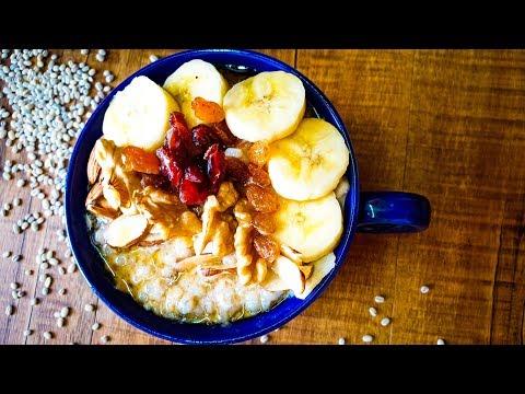Fruit & Nut Barley Porridge