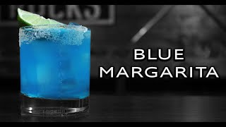 Easy Blue Margarita Recipe  Blue Curacao Cocktails  Booze On The Rocks