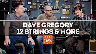Dave Gregory Talks 12-String Ricks, Strats, 335s, Pedals… and XTC! That Pedal Show