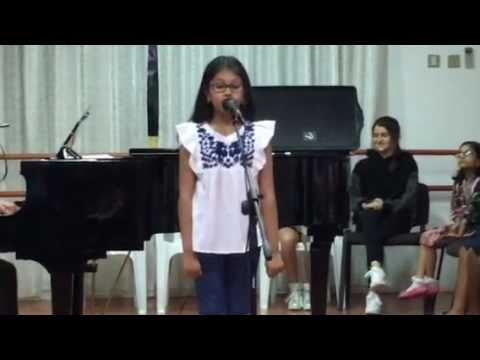 Varshika's open class at International Centre for Music