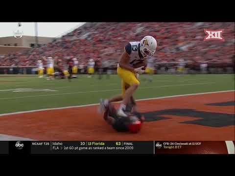 Oklahoma State vs. West Virginia Football Highlights