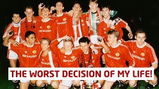 Worst Decision Of My Life! Manchester United Class Of 92 | Ben Thornley