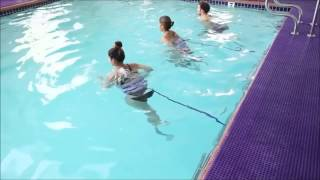 Pool Running with Correct Form