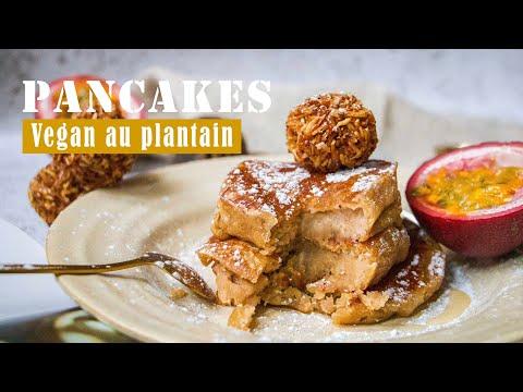 pancake-vegan-|-recette-africaine-à-base-de-banane-plantain-»-0%-sucre,-100%-plaisir