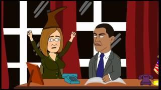 Украина мультфильм Псаки,Путин,Обама