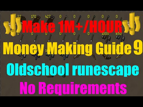 how to make money with magic osrs