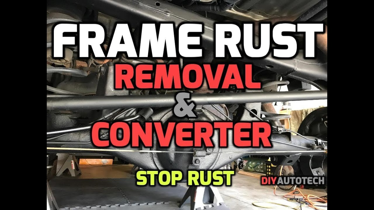 Stop Rust - Rust Converter & Rust Remover + Undercoating (Frame Rust) 1080P  HD