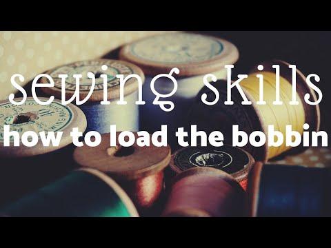 YR 7 RBC -TECH - How to load the bobbin