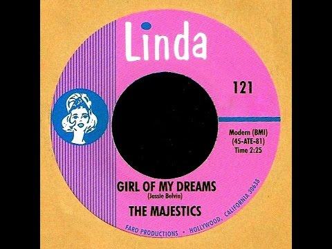 Majestics  GIRL OF MY DREAMS Gold Star Studio  1965