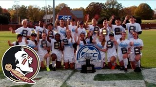 Florida State Wins 2014 ACC Women