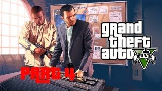 Grand Theft Auto V GTA 5 Walkthrough Part 4 Let's Play No Commentary 720p Gameplay