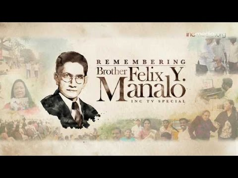 Tribute to Bro. Felix Y. Manalo