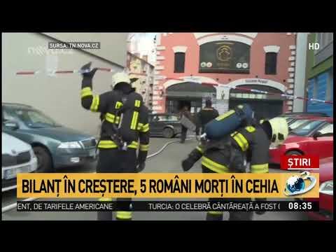 Explozie puternică în Cehia: cinci români și-au pierdut viața în urma tragediei. Preşedintele