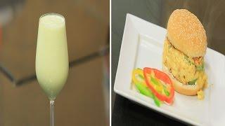 سندوتش بيض بالجبنة و السجق - عصير كانتلوب بجوز الهند | سندوتش وحاجة ساقعة حلقة كاملة