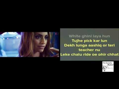 Blue Eyes Yo Yo Honey Singh - Karaoke (with lyrics and video)