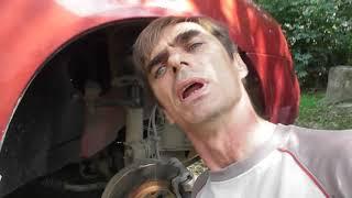 Как заменить в ВАЗ Калине Стойки Стабилизатора Самый простой Вариант