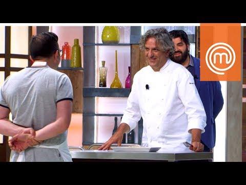 La variazione di Antonino sul piatto dello chef Locatelli   MasterChef Italia 7