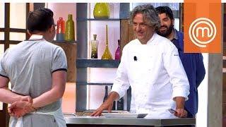 La variazione di Antonino sul piatto dello chef Locatelli | MasterChef Italia 7