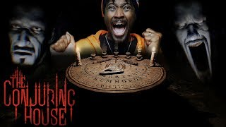 ⚠️ CAUTION HEADPHONE USERS⚠️ The Conjuring House FULL GAME LIVESTREAM