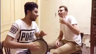 أغنية بموت جوايا وببكي علي حالة بطريقة مختلفة علي الطبلة | بصوت محمد الخوريبي وعاشور