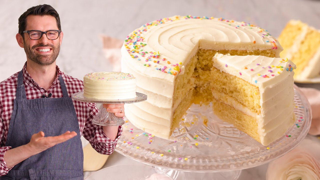 Vanilla Cake Recipe Preppy Kitchen