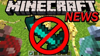 Minecraft 1.9 News: Sword Blocking Removed! Dual Wield Items Shield Off-Hand, Hit Block, Left Handed