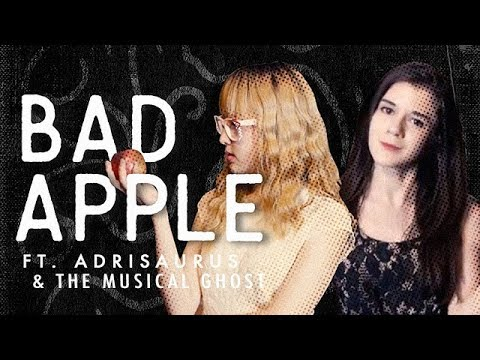 Bad Apple MV [Electro Swing Remix (ft. Adrisaurus & The Musical Ghost)]