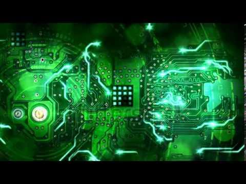 Windows Animated Gif Wallpaper Green Computer Circuit Board Background Loop 2184700