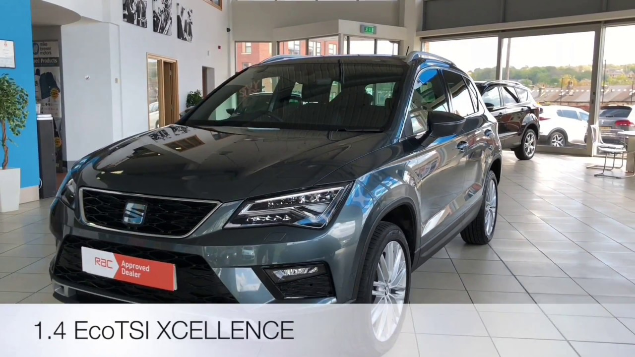 seat ateca 1 4 ecotsi xcellence youtube. Black Bedroom Furniture Sets. Home Design Ideas