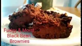 Peanut Butter Swirl Black Bean Brownies Gluten Free Vegan