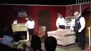 """Old White Man Pops and Locks In Dance Routine on Broadway """"HALARIOUS"""""""