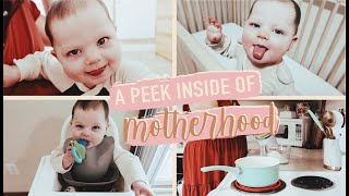 SPEND A DAY WITH A MOM//Stay At Home Mom Life
