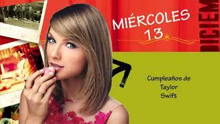 ¡Cumpleaños de la Semana!: Del 12/12/17 al 15/12/17