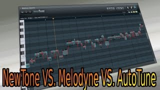 Video 21 - FL STUDIO A - Z  (NewTone 2, AutoTune, Melodyne, Melodie Töne Verändern) TUTORIAL GERMAN