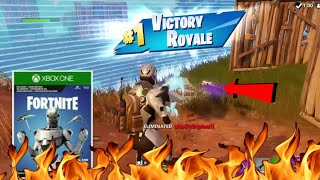 Fortnite Eon skin gameplay Victory Royale